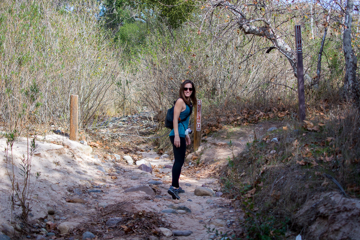 Beginning of Red Rock Canyon Trail