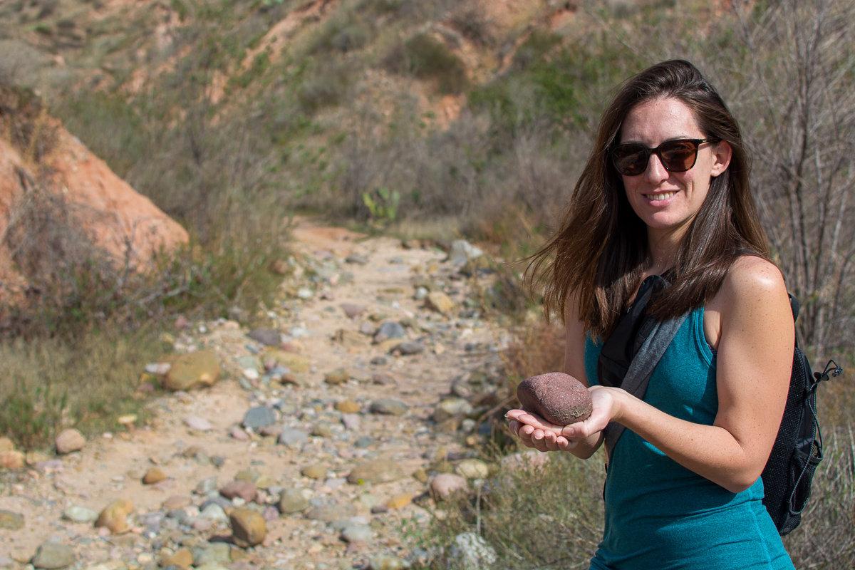 Rocks along Red Rock Canyon Trail