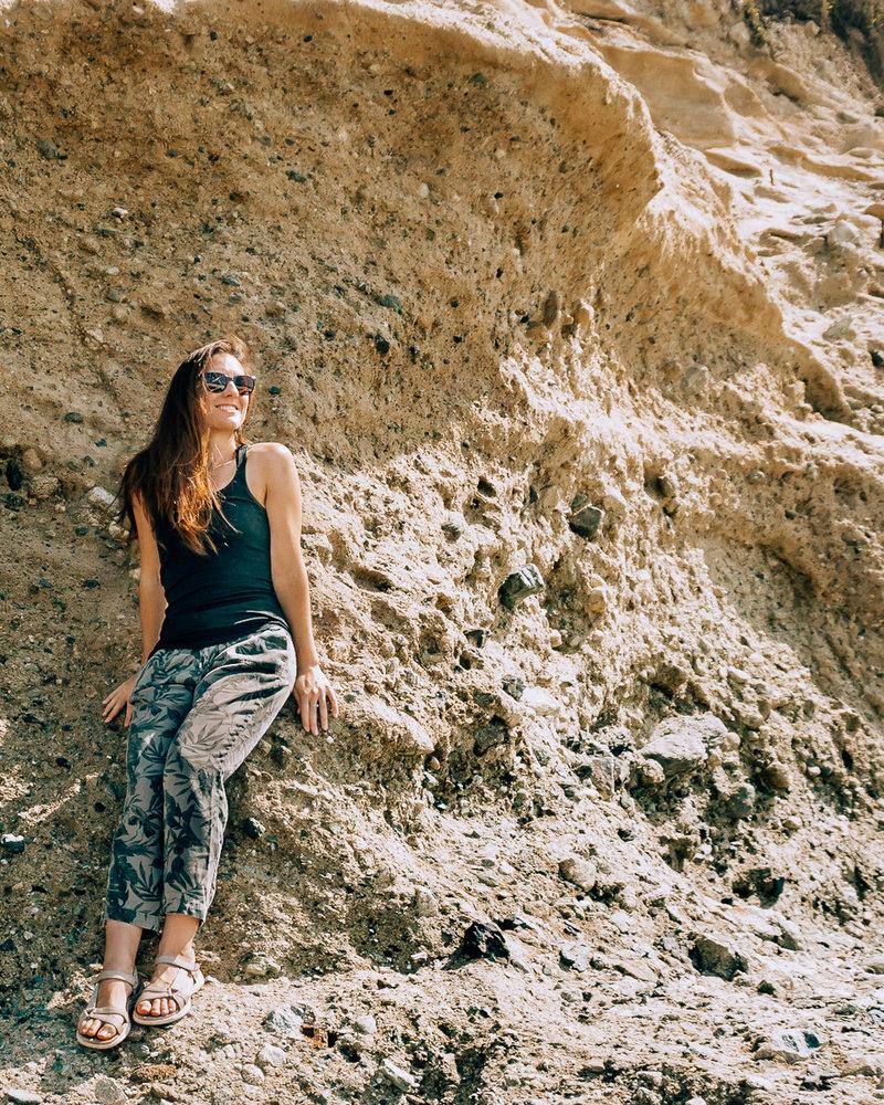 At 1000 Steps Beach in Laguna Beach, California