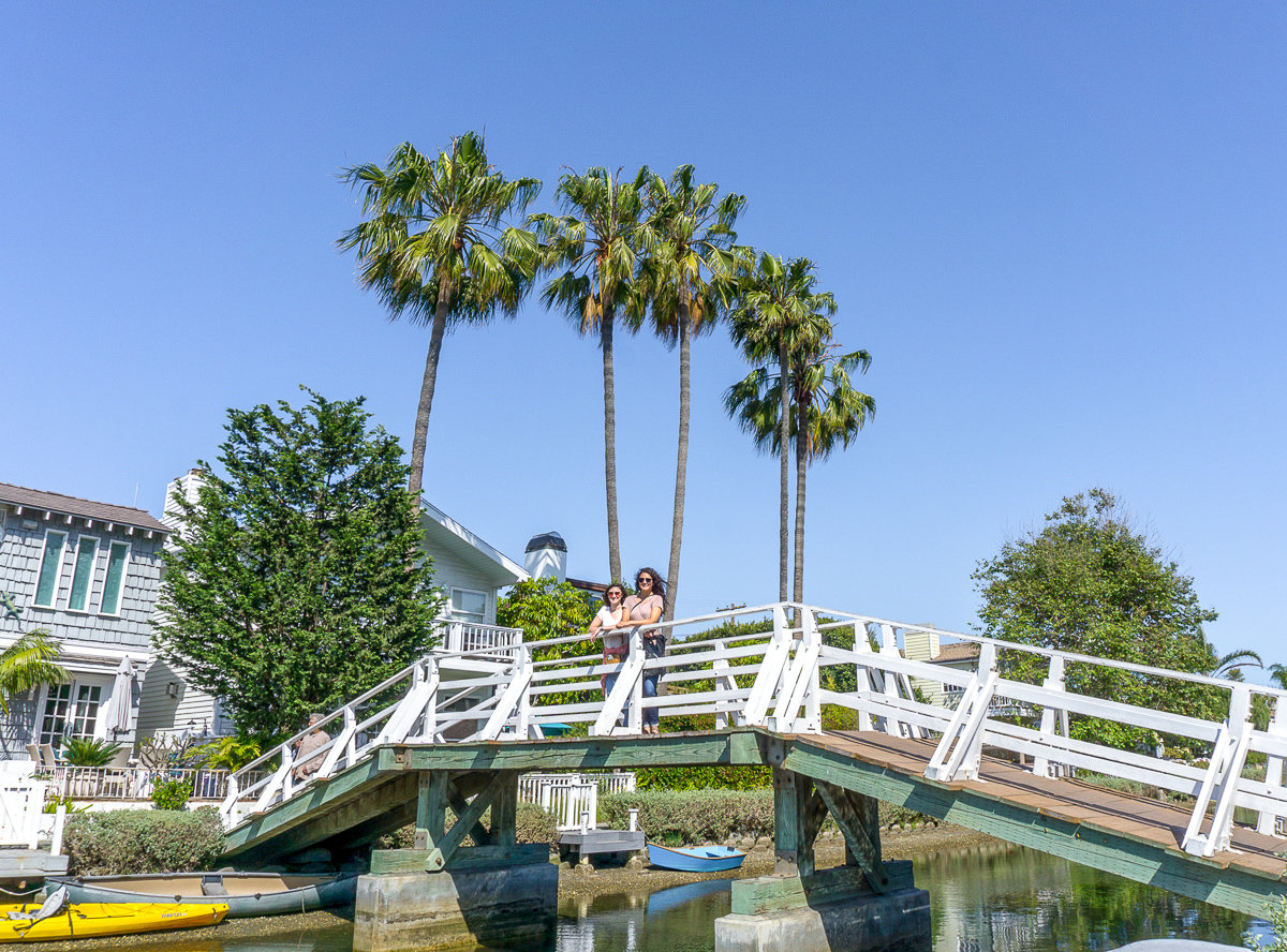 The Canals in Venice, California