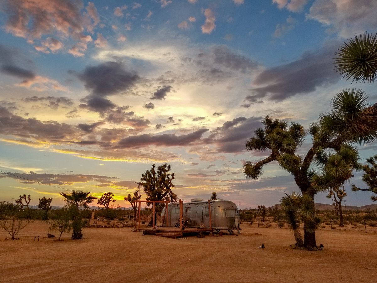 The property at Joshua Tree Acres