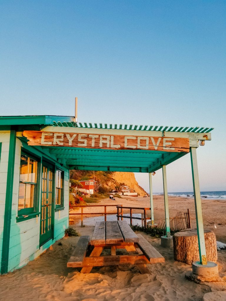 The Historic District in Crystal Cove State Park