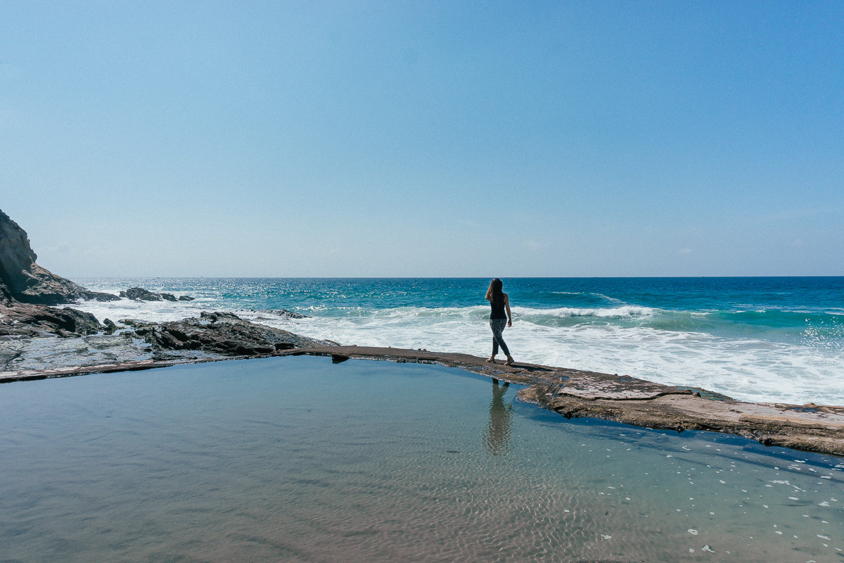 You can find some secret pools at 1000 Steps Beach in Laguna Beach.
