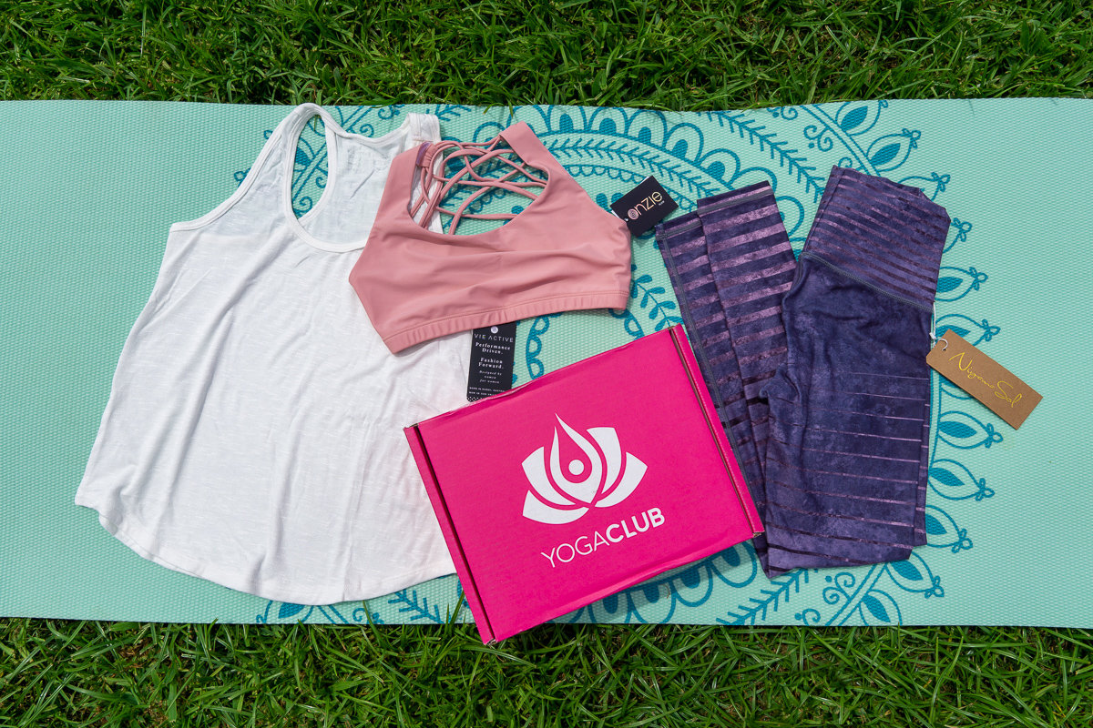 Complete yoga outfit from YogaClub