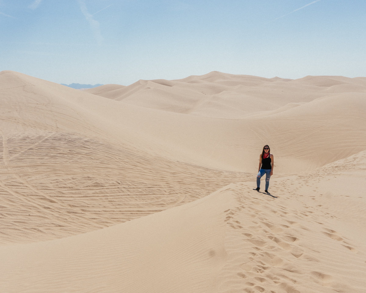 California's largest sand dunes