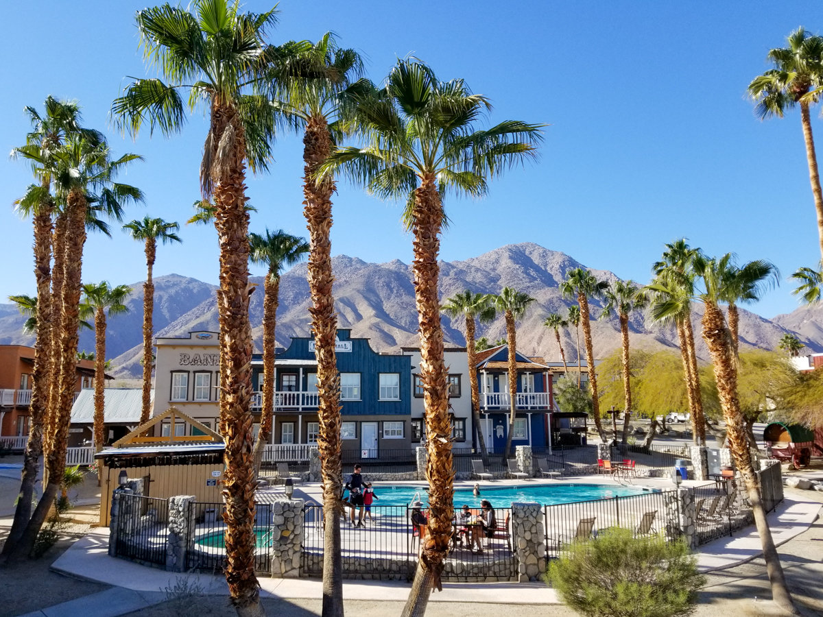 The Palm Canyon Hotel in Borrego Springs, California