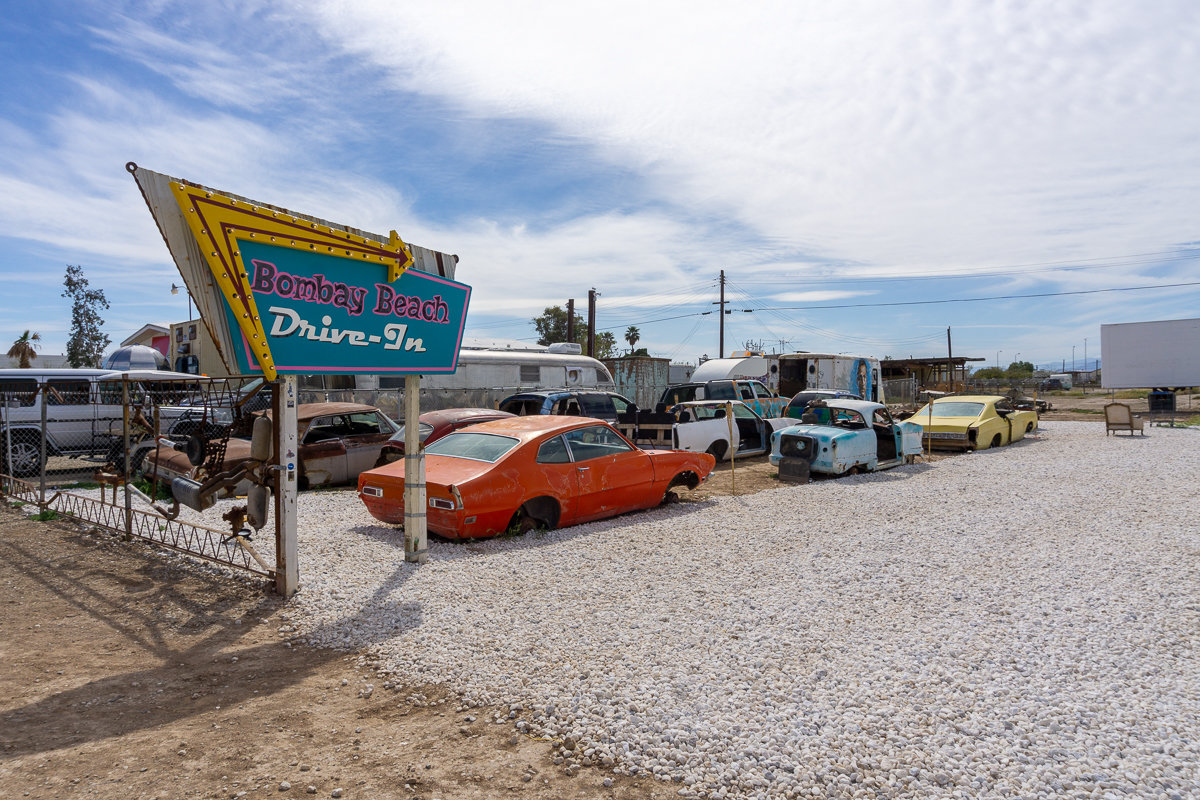 Bombay Beach Drive-In Salton Sea, California
