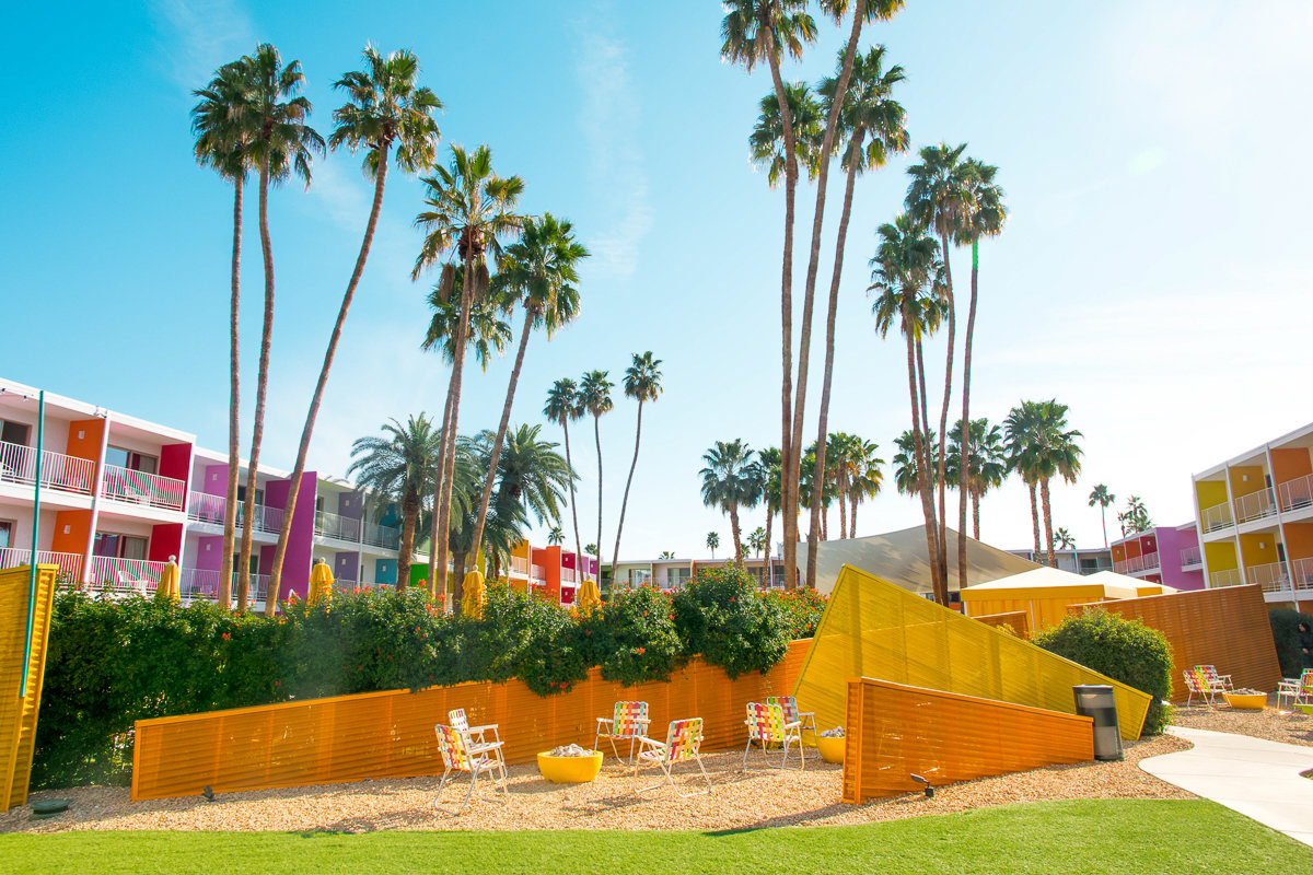 The Saguaro Hotel in Palm Springs, California