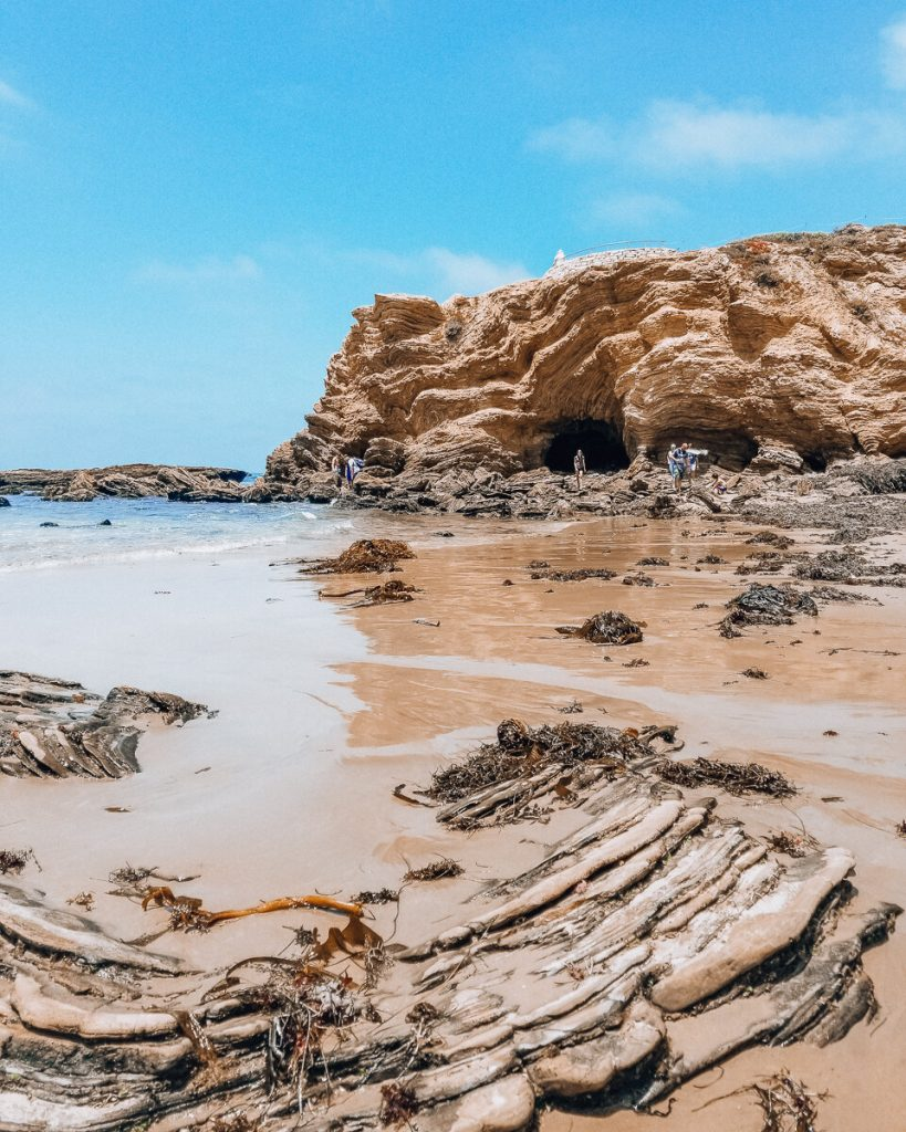 Pelican Point in Crystal Cove State Park