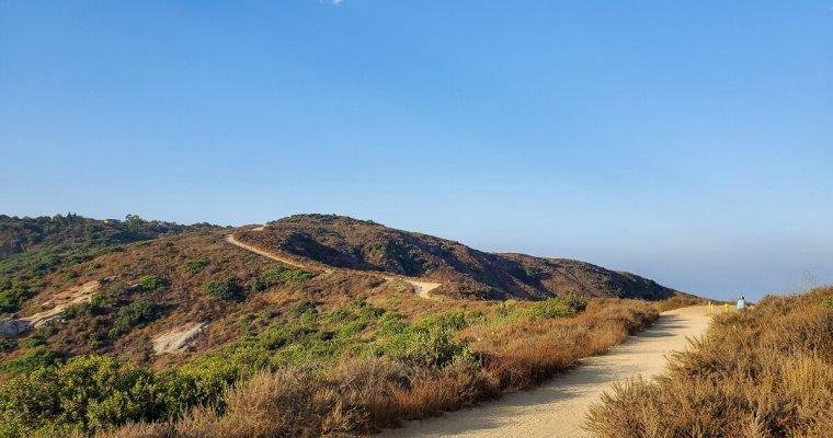 Hiking Routes to Top of the World Laguna Beach, California