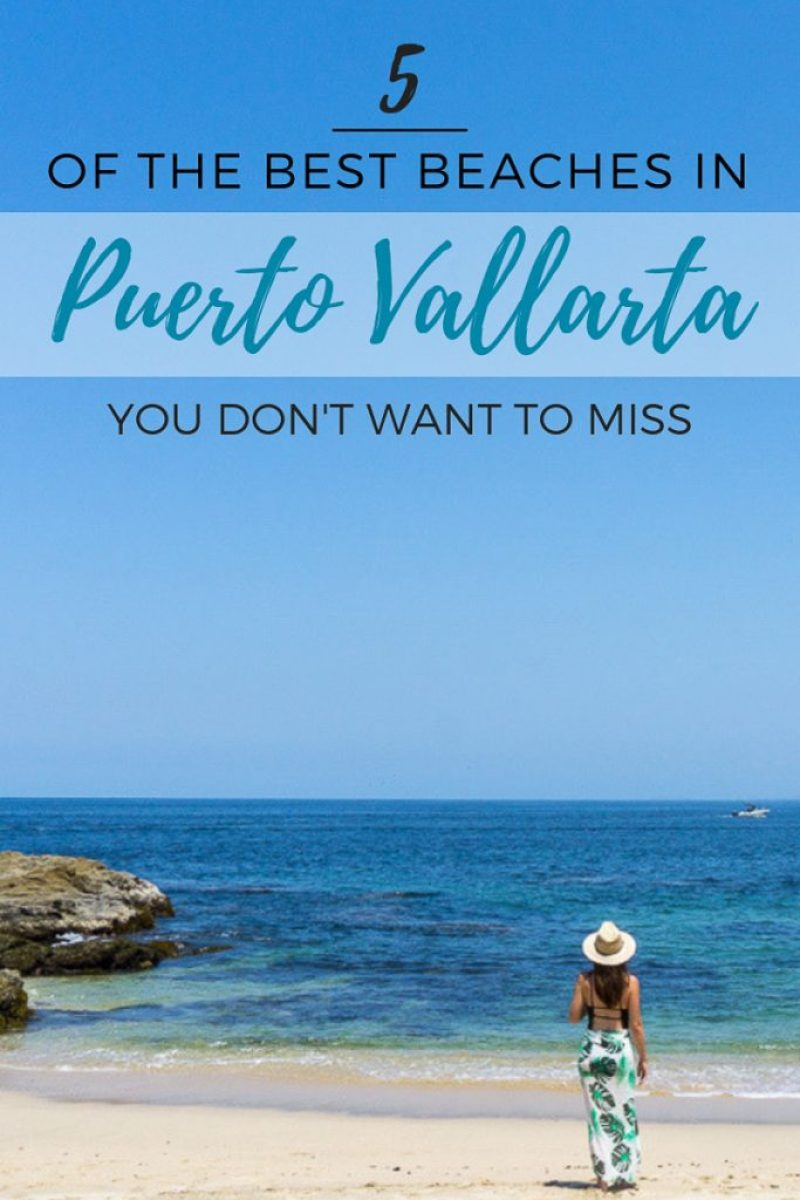 5 of the Best Beaches in Puerto Vallarta Pin