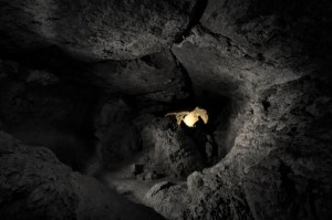 27365877 - dark cave with man