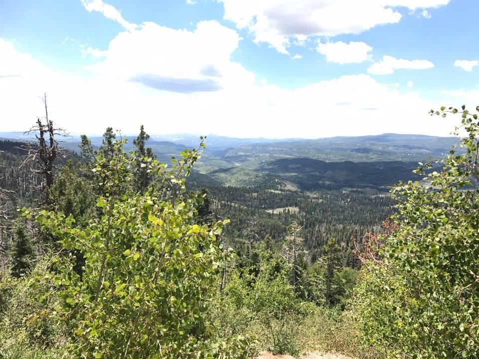 Onderweg naar Bryce Canyon
