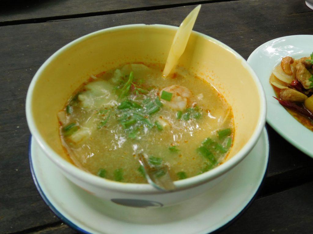 Tom Yum soep