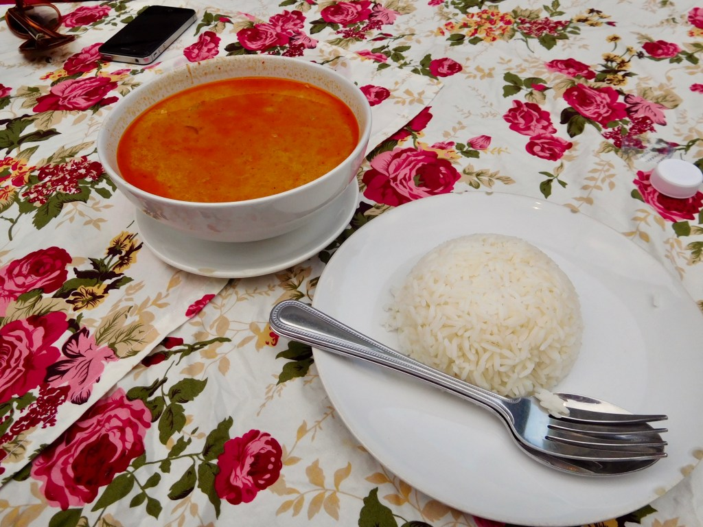 traditionele Thaise curry
