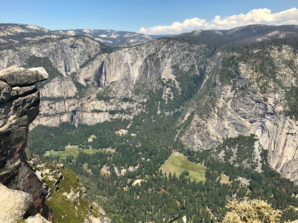 Yosemite National Park, uitzicht Glacier Point