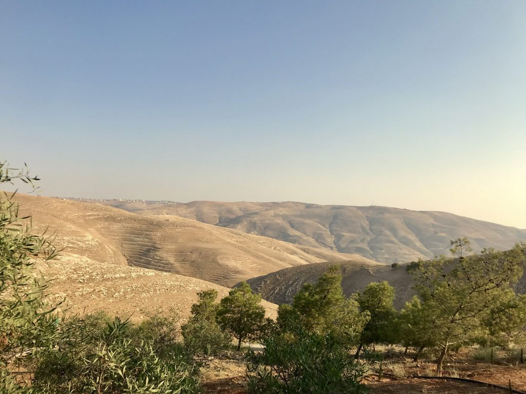 Traveldiary Jordanië: Views at mount Nebo