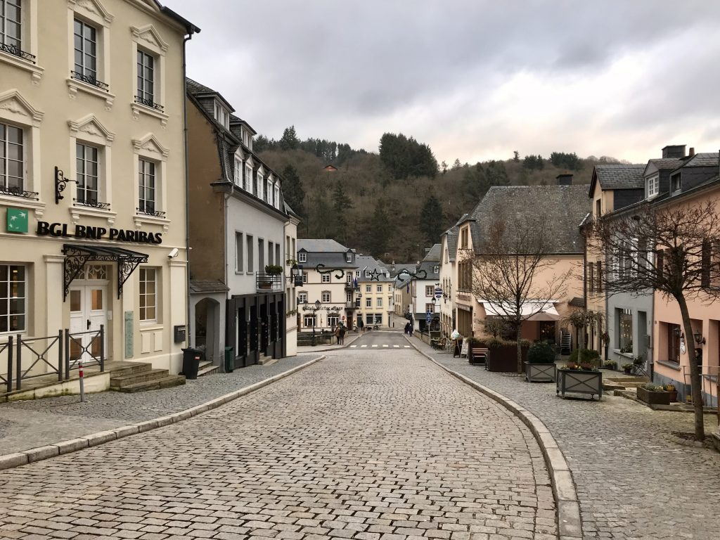 In januari ging ik naar Luxemburg: Vianden