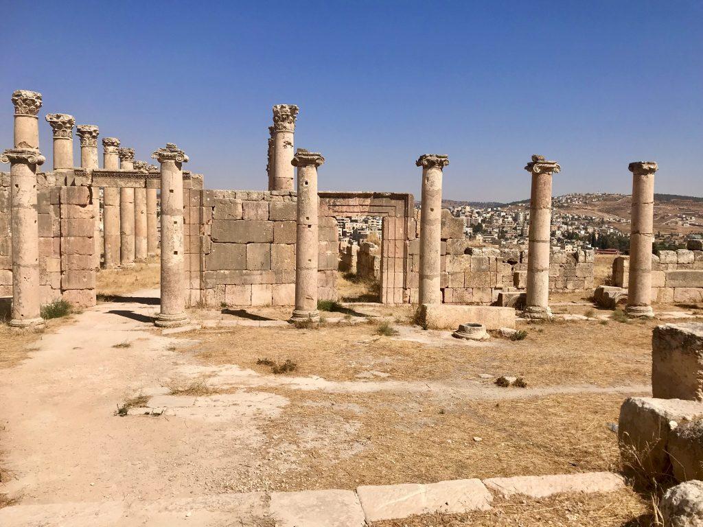 kerken in Jerash, Jordan