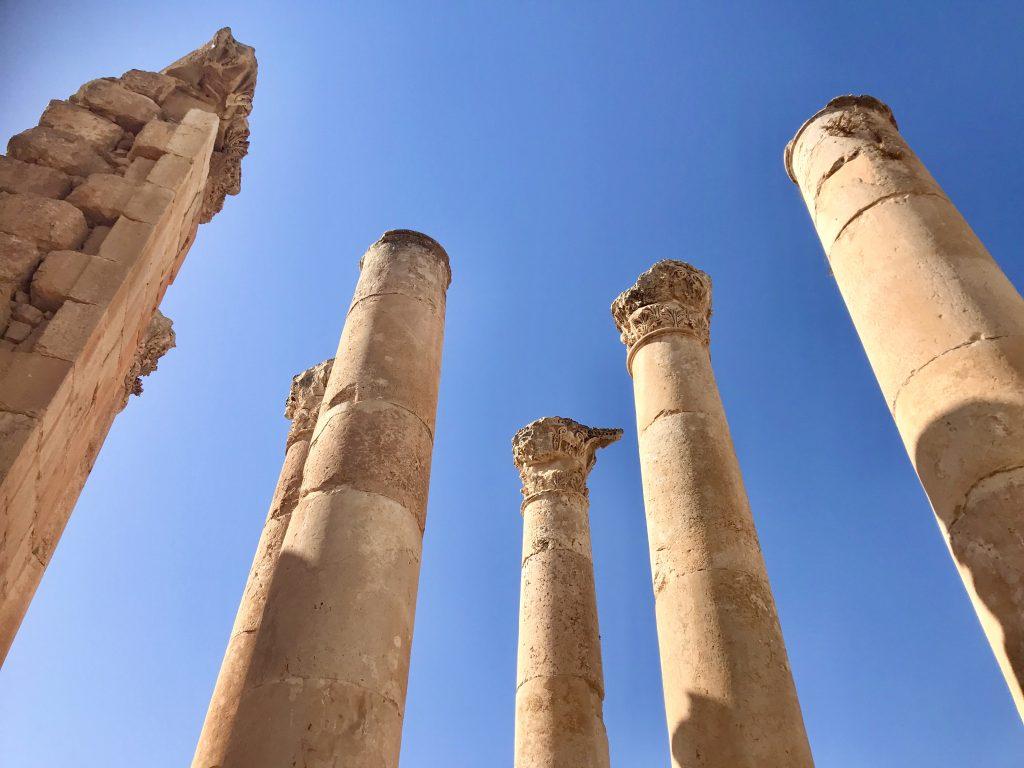 Tempel van Zeus, Jerash