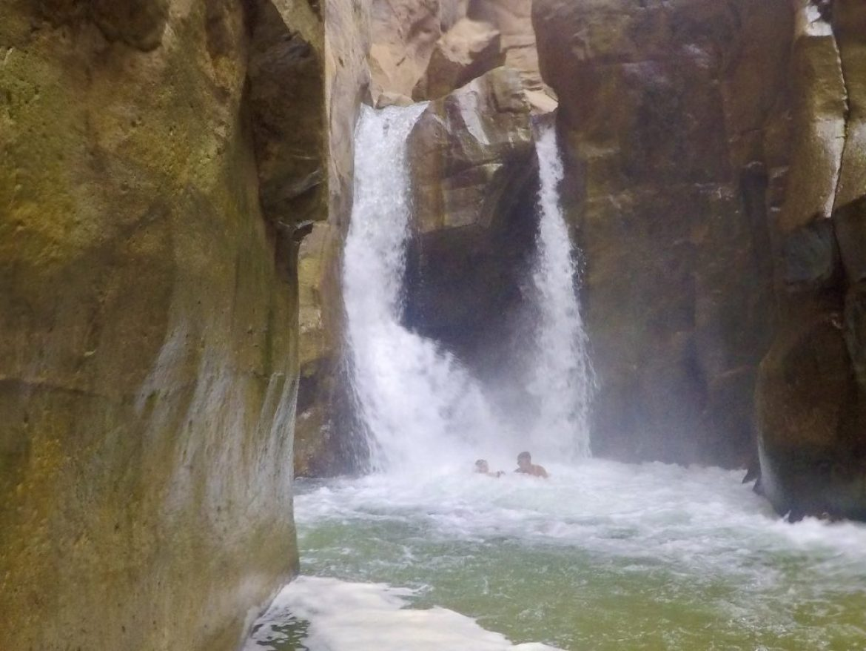 Waterfall at Wadi Mujib, Jordan