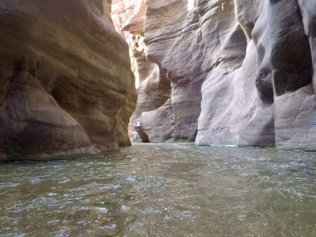 The Siq Trail of Wadi Mujib