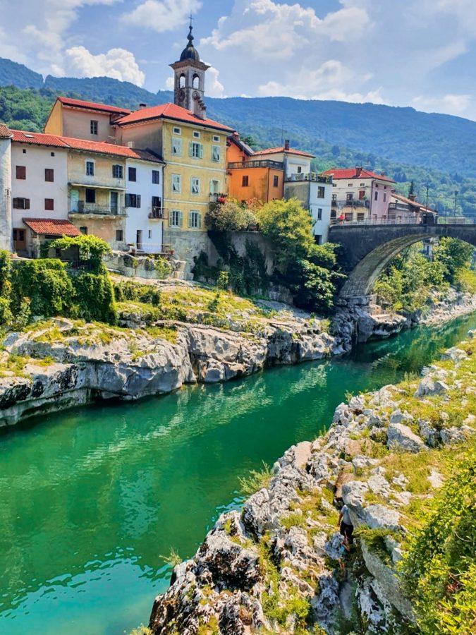 Soca River, Slovenië