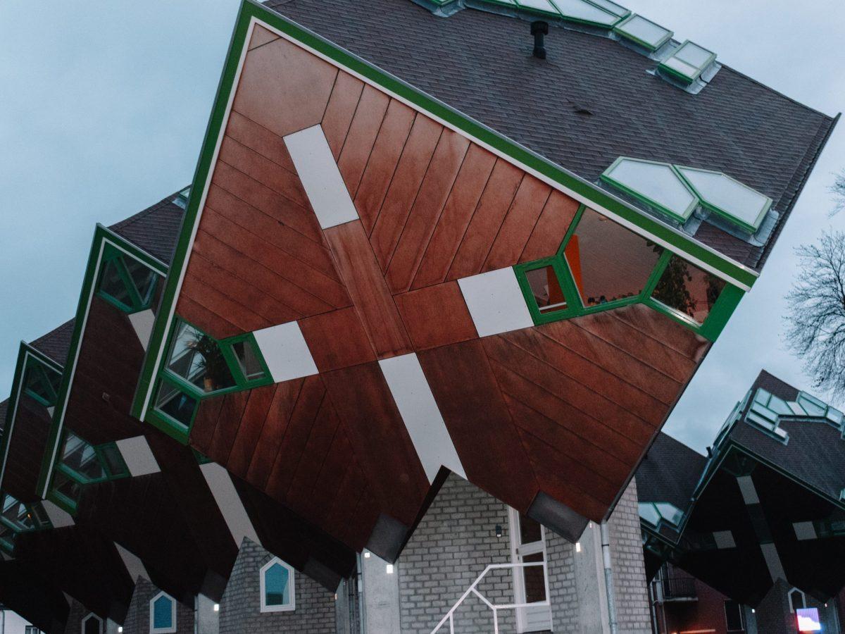Kubuswoningen Helmond, Nederland