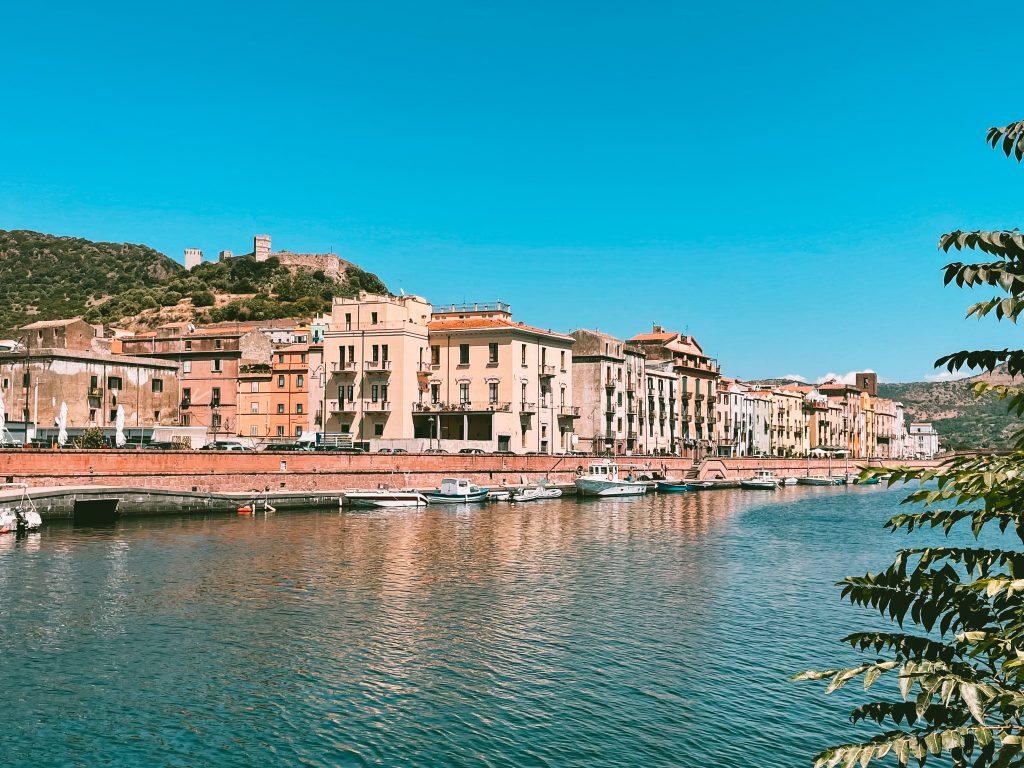 Bosa, Sardinia - augustus 2021