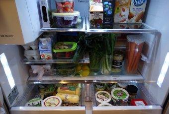 The yummy foods I keep in my healthy fridge