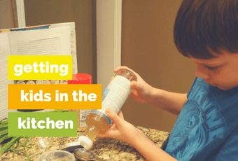 Getting Kids in the Kitchen – Episode 8 – A Healthy Bite