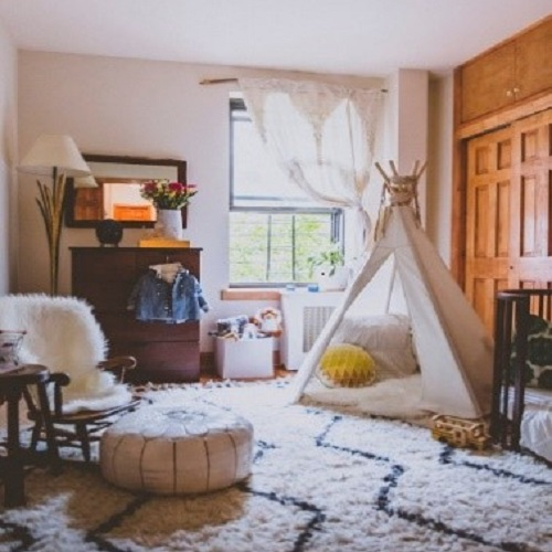 Hygge style nursery that's mine