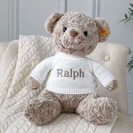 Personalised Steiff Bears and Bunnies