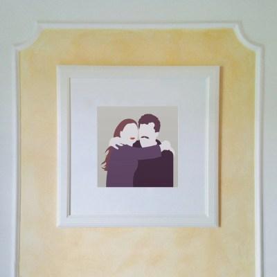 INGRIDESIGN amore illustration
