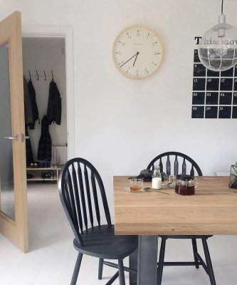 scandinavian feeling cozy home hygge table interior