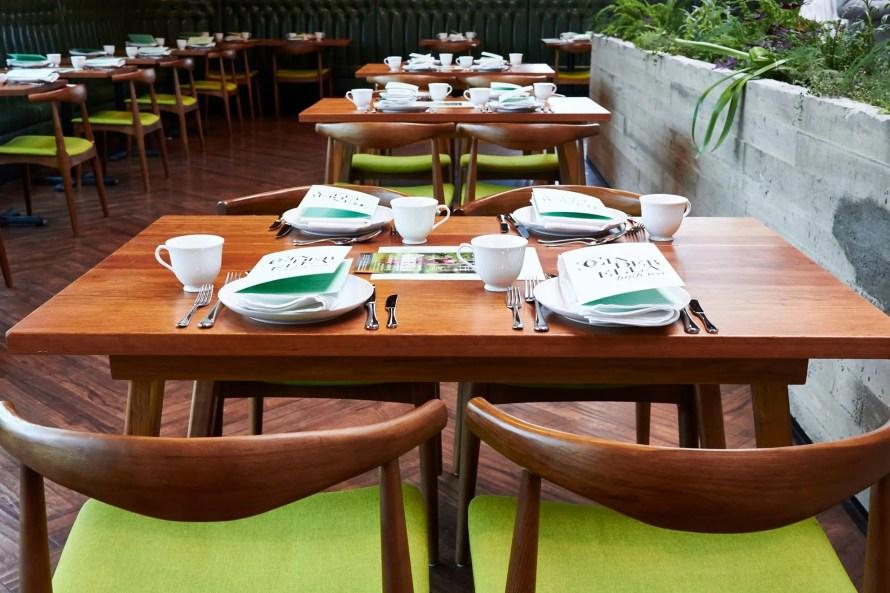 cafe linnea canada scandinavian interior table