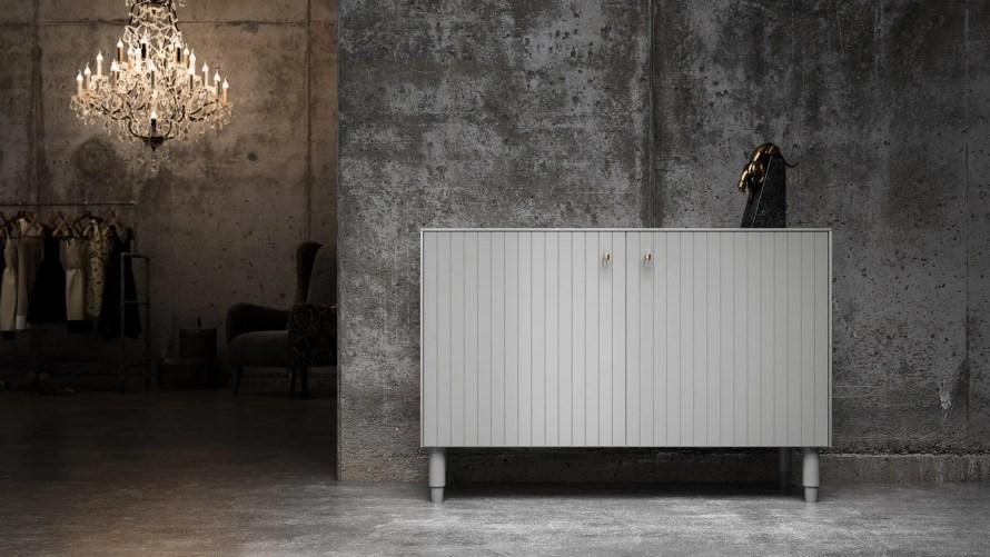 ikea norse cabinet scandinavian home minimal