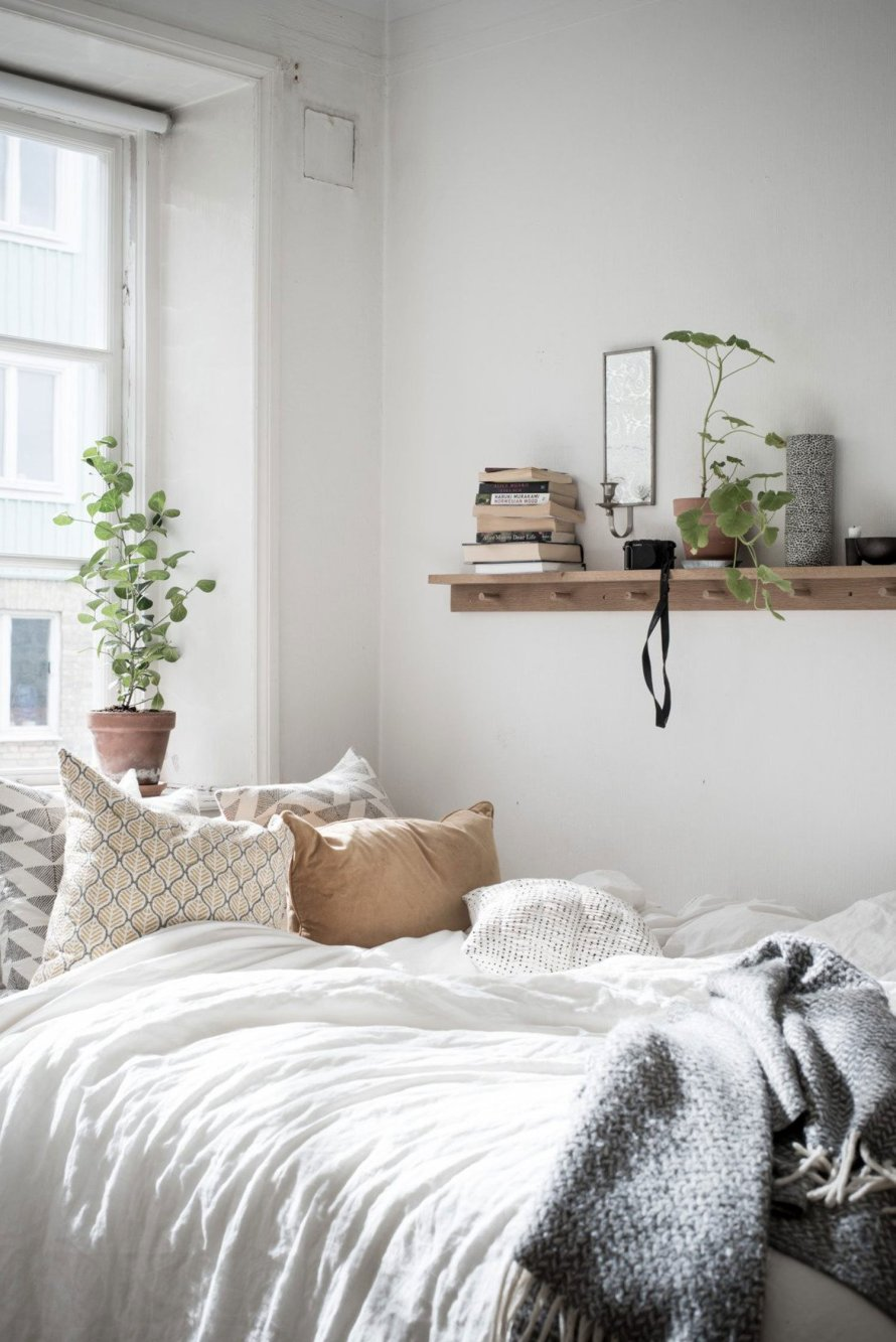 bedroom cozy small homely