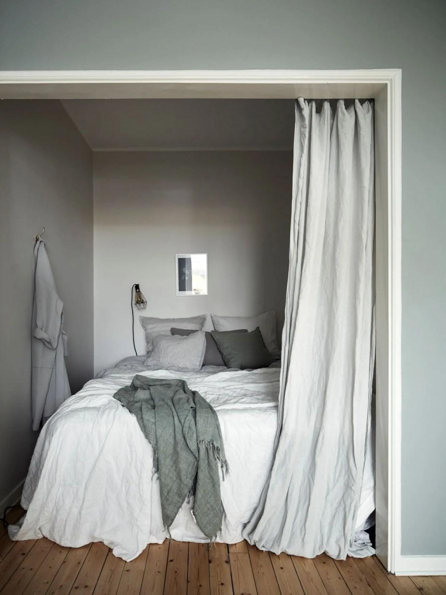 hidden bedroom hygge