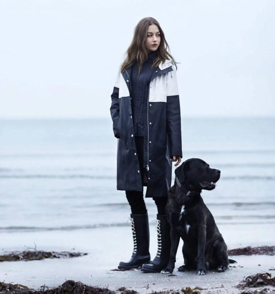 scandinavian rain boots autumn winter