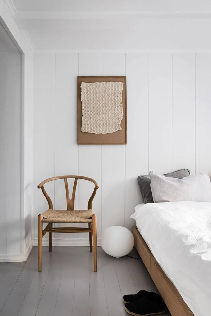 white bedroom hygge airbnb norwegian