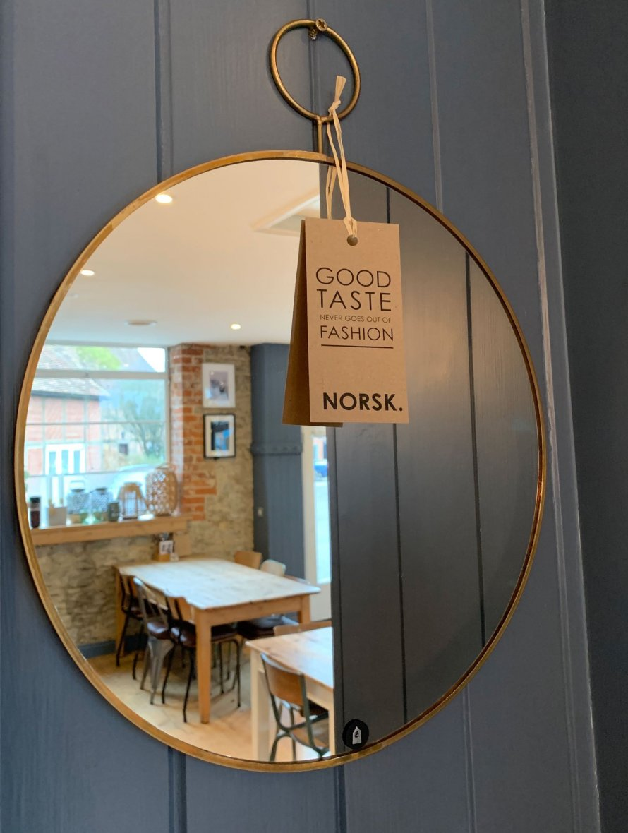 norsk uk cafe mirror scandinavian