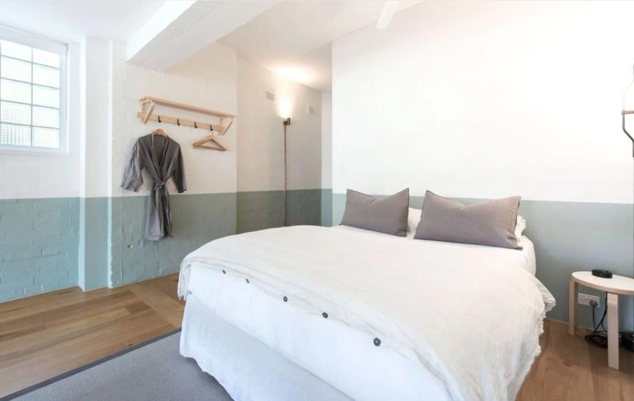 scandinavian apartment sydney airbnb bedroom
