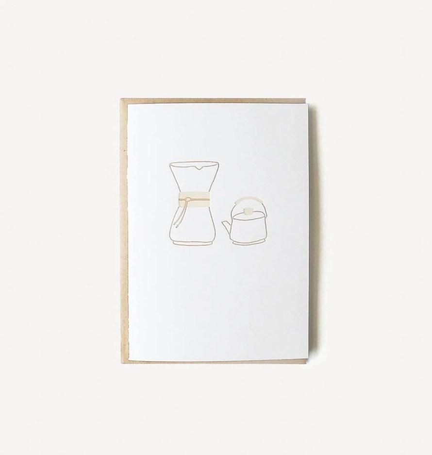 scandinavianfeeling coffee greeting card