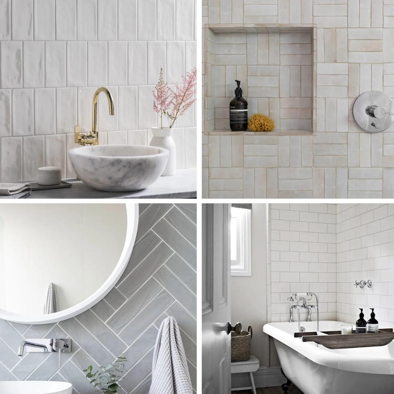 INSPIRATION: CHOOSING SUBWAY TILE DESIGNS FOR BATHROOM