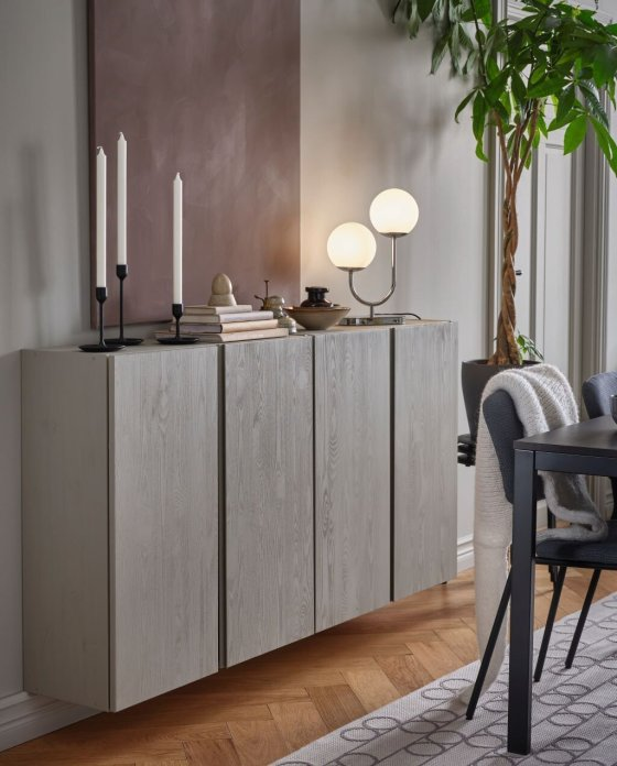 scandinavian-interior-decor-tips-ikea-ivar-cabinet-painted-livingroom
