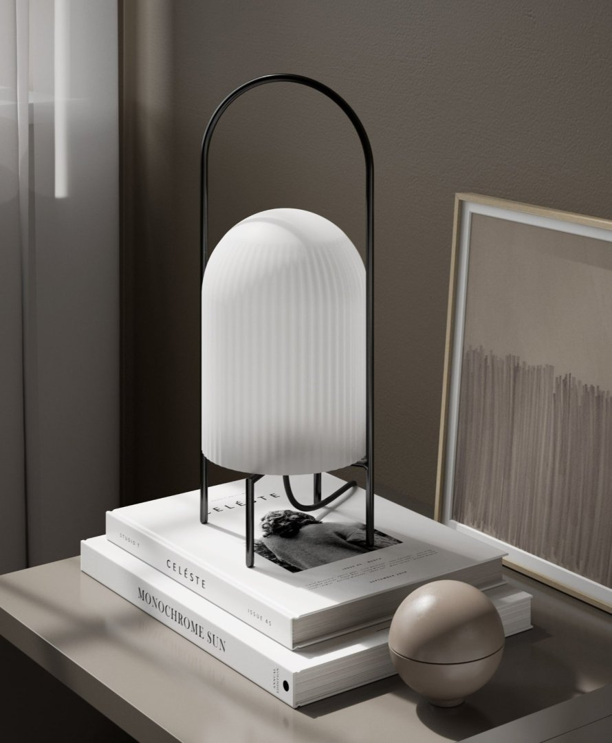 scandinavian feeling table lamp ghost woud