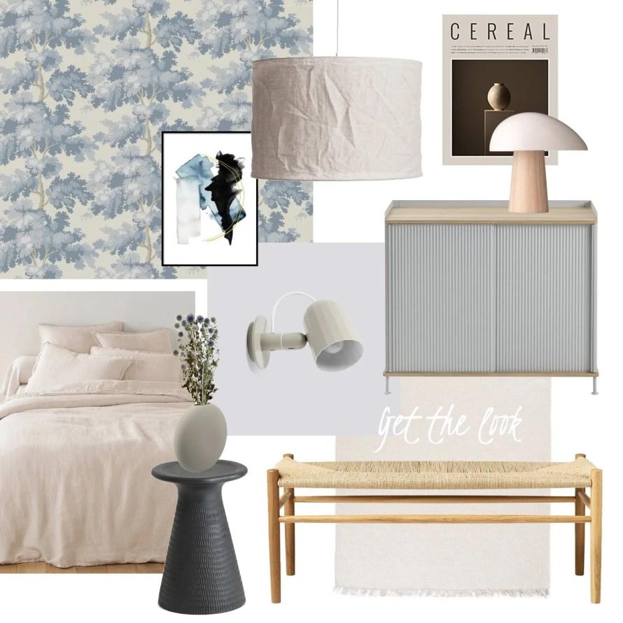 thatscandinavianfeeling getthelook bedroom blue