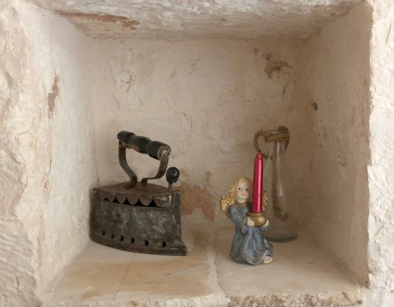 Staying in a cozy Trullo house in Puglia