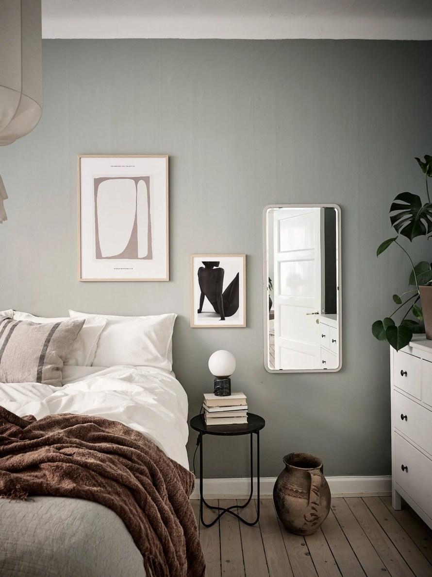 scandinavian feeling bedroom cozy green 3 scaled